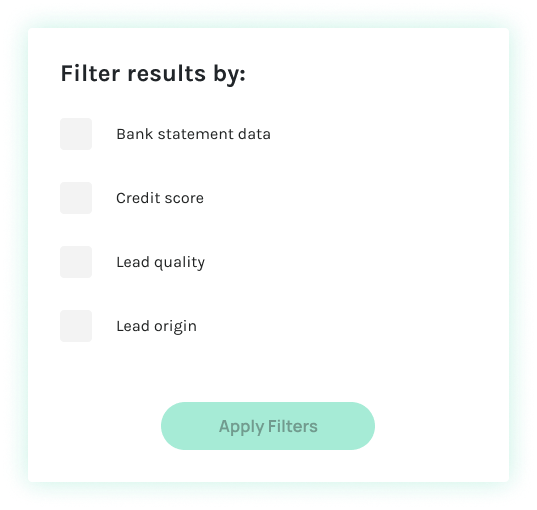 Filtered Leads